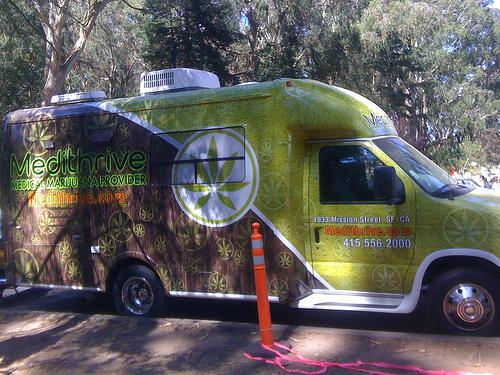 Medical Marijuana Van