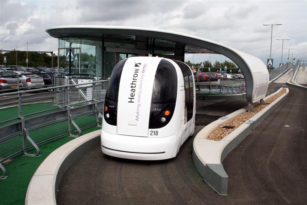 ULTra PRT's electric power pod