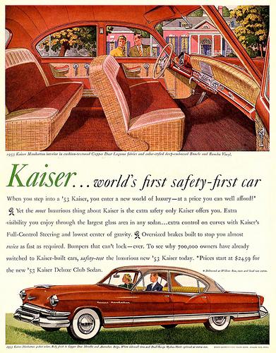 1953 ... safety first!