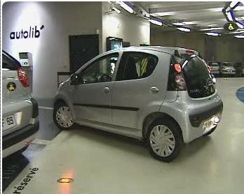 Autolib car sharing program in Paris