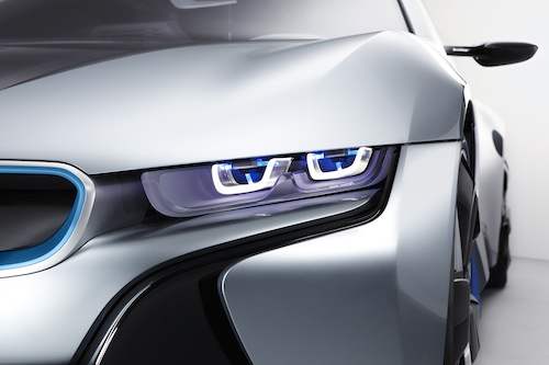 BMW i8 Concept with BMW Laserlight