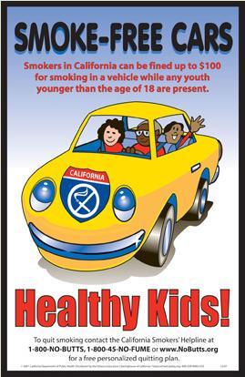 Smoke-Free Cars Healthy Kids!