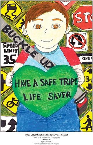 Have a safe trip! Life saver