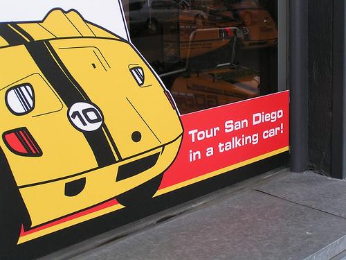 Tour San Diego in a talking car