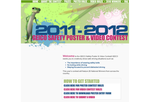 Geico Safety Contest
