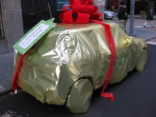What's Inside the Wrapped Gift Present?