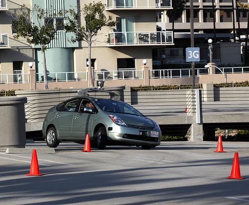 Google Robocar Racetrack Ride