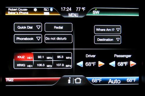 Ford Focus dashboard