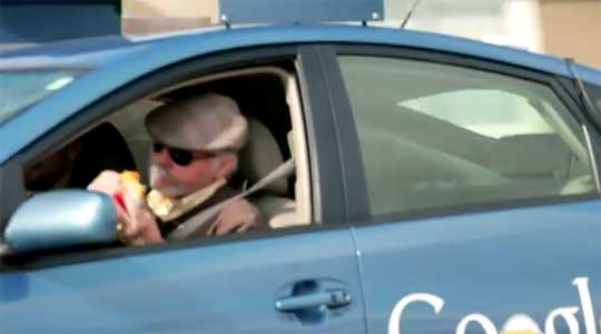 Google Self-Driving Car Test: Steve Mahan