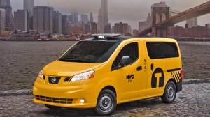 Nissan Taxi [and NYC] Skyline