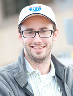 Anthony Levandowski, product manager for Google's self-driving car technology