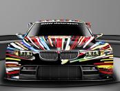 BMW embellished by artist Jeff Koons
