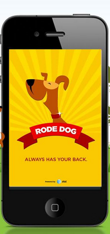 Rode Dog app to prevent distracted driving