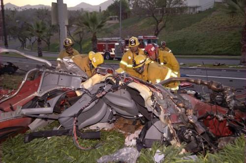 Dodge Charger Crash