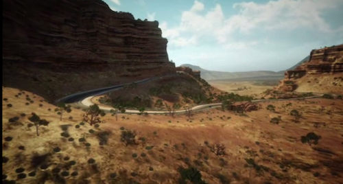 Colorado scene in new Xbox 360 game Forza Horizon