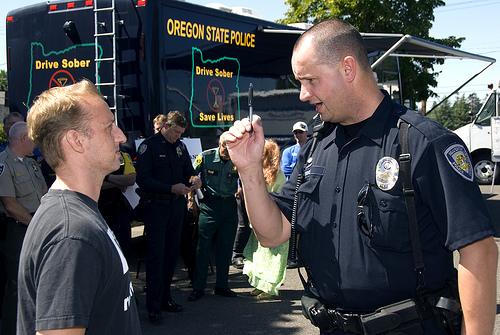 Oregon field sobriety test demo