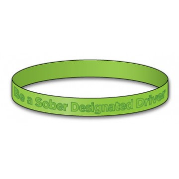 Be a Sober Designated Driver bracelet