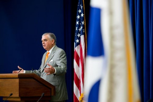 U.S. DOT Secretary Ray LaHood, from his Fast Lane blog
