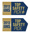 IIHS Top Safety Pick and Pick+