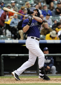 Colorado Rockies first baseman Todd Helton