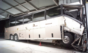 Bus that crashed