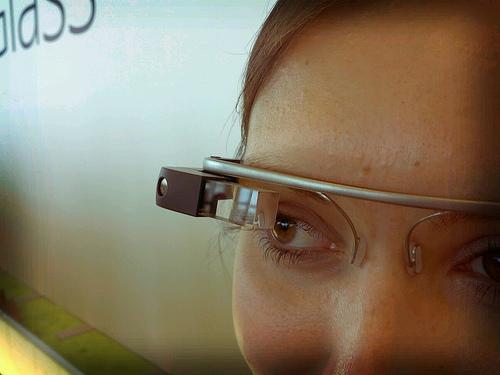 Detail of Google Glass