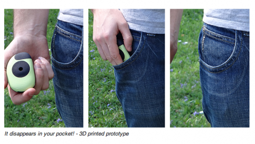 Floome breathalizer fits in your pocket