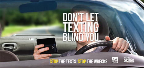 texting and driving psa Distracted driving public service announcements warning: some videos are graphic texting while driving documentary by werner herzog organizations & studies for distracted driving.