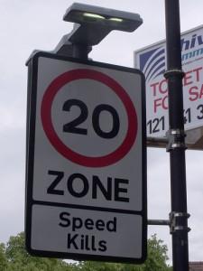 Speed Kills sign