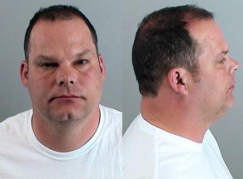 Broncos Tom Heckert DUI arrest mug shot, courtesy Douglas County, CO sheriff's department