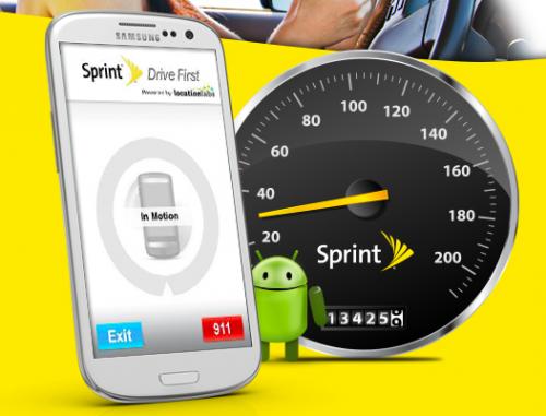 Sprint Drive First app