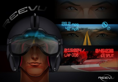 Reevu HUD helmet display