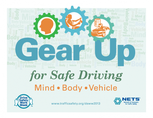 Gear Up for Safe Driving poster
