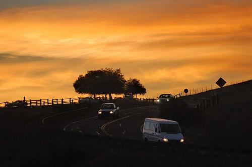 Bernal Traffic at dusk