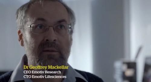 Geoff Mackeller, CEO of the engineering company Emotiv