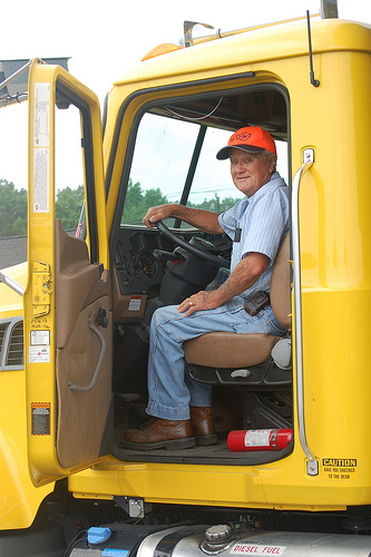 80-year-old truck driver