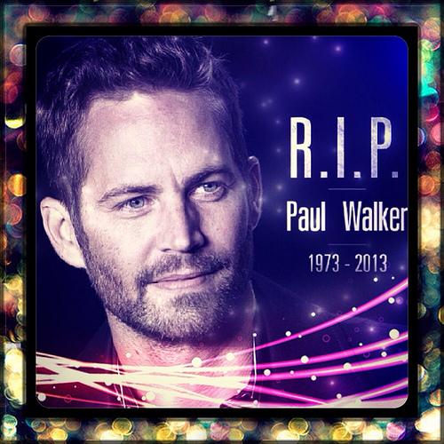 R.I.P. Paul Walker!