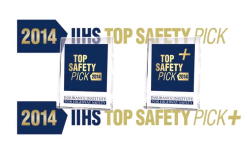 IIHS Top Safety Picks for 2014