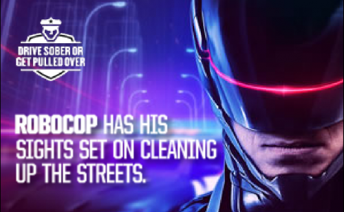 NHTSA's RoboCop commercial in crackdown on drunk driving through New Year's Day