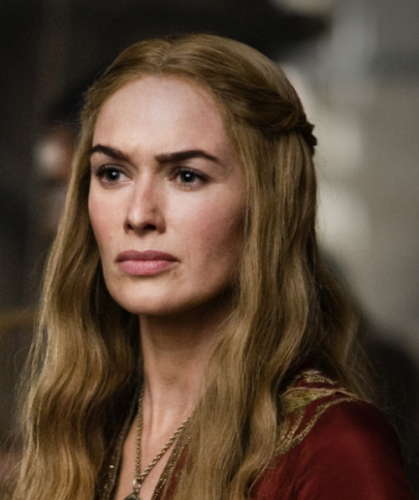 "Cersei in the HBO series ""Queen of Thrones"""