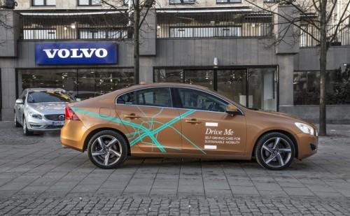 Volvo's autonomous car