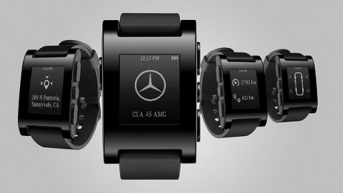 Pebble Smart Watch for Mercedes-Benz