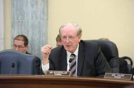 Senator John D. (Jay) Rockefeller IV,  U.S. Senate Committee on Commerce, Science and Transportation