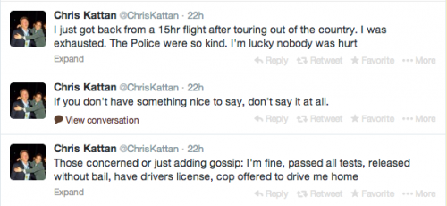 Chris Kattan's tweets