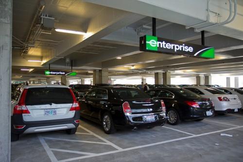 Enterprise's rental car fleet