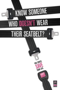 Click it or Ticket seat belt poster