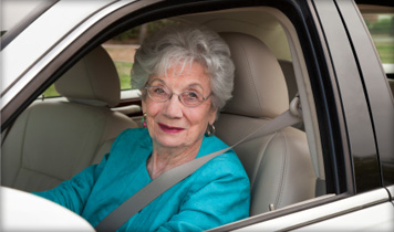 Older driver. Image courtesy AAA