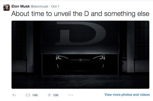 Elon Musk's tweet