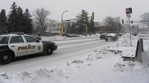 Minnesota police car