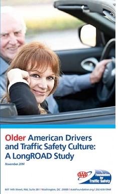 Cover of AAA Study on Older American Drivers